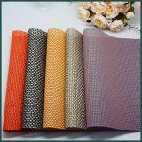 Cocina tejida PVC respetuosa del medio ambiente Placemat del material