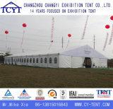 屋上の大きい切り妻の防水作業展覧会のテント