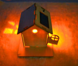 Casa de madeira solar inteletual 069 da exploração agrícola do jogo DIY do brinquedo do produto verde da energia