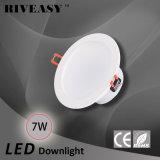 7W 4 Licht des Zoll-LED Downlight des Scheinwerfer-LED mit Ce&RoHS integrierter Deckenleuchte des Fahrer-LED