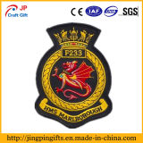 Custom Raised Embroidery Badge, Prendas de vestir OEM Patches bordados