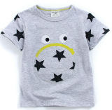 T-shirt mignon de fille chez des vêtements des enfants avec l'impression Sgt-067