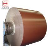 La couleur de Dx51d PPGI enduite a enduit la bobine d'une première couche de peinture en acier galvanisée