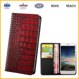 Fashion Type Genuine Leather Material Steel Buckle Leaher Case