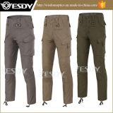 le Rapide-Séchage extérieur de pantalons du combat des hommes 3colors halète le vert