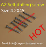 DIN7984 dentada de tornillo Torx del tornillo de husillo roscado DIN 912 Tornillo Torx especial