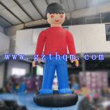 カスタムFlatableの漫画の気球か膨脹可能なスパイダーマンの漫画モデルを広告すること