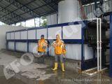 25 toneladas por a máquina de fatura de gelo do bloco da congelação direta de dia