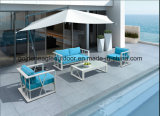 Moderne gesponnene UV-Beständige PET Rattan-Garten-Möbel (S0245)
