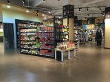 Estantería de madera comercial de la góndola para el almacén del supermercado