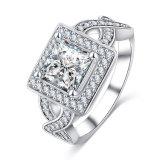 정연한 CZ 다이아몬드 보석 반지 포도 수확 (CRI0401-B)