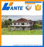 Каменная Coated плитка крыши металла сделанная в Китае