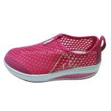 Сетка женщины поздним летом Breathable резвится идущие ботинки (BL160304-1)