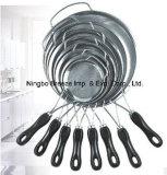 Стрейнер кухни нержавеющей стали 304 Kitchenware высокого качества с ручкой