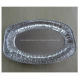 Takeaway a gettare di alluminio del contenitore di alimento