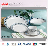 Aangepaste 18PCS Dinner Set in SHAPE Round (jsdp-009)