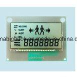 Visualización Stn/Tn LCD del LCD del segmento de Stn/Tn LCD 7