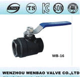 Kohlenstoff Steel 2PC Thread Ball Valve