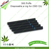Сигарета Ocitytimes 300puffs/500puffs/600puffs Dispsoable электронная с сертификатом Ce/FCC/RoHS