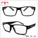 Plastic Reading Glasses degli uomini con Metal Decoration (WRP507286)