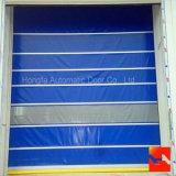Автоматическая промышленная дверь штарки завальцовки PVC высокоскоростная (HF-02)
