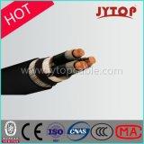 Câble d'alimentation isolé par XLPE de cuivre de faisceau de HT trois de tension