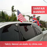 Ткань печатание цифров гибкого трубопровода знака национальная рекламируя флаг автомобиля Equipent
