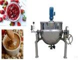 Acier inoxydable inclinant faisant cuire le pot pour la nourriture (bouilloire revêtue), se mélangeant faisant cuire le pot