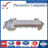 Base de refrigerador de petróleo del cambiador de calor del acero inoxidable para el motor diesel