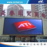 Buon schermo di visualizzazione esterno del LED di colore completo di qualità P16mm (TUFFO 5454)