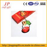 Кольцо выдвиженческой краски PVC ключевое, цепь рождества отца ключевая (JK-001)