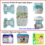 Weiches Touch Baby Products Soem Sleep Baby Diapers Made in China