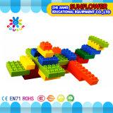 Kind-Plastiktischplattenspielzeug-massive Bausteine