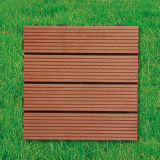 WPC Wood Plastic Composite Decking Floor Tile pour Outdoor