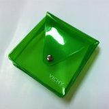 Sachet en plastique imperméable à l'eau clair avec le bouton