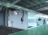 Garage-Geräten-Selbstfarbanstrich-vor Station