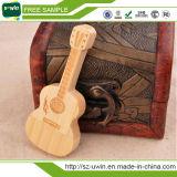 Mecanismo impulsor de madera de la pluma del mecanismo impulsor del USB del mecanismo impulsor del flash del USB de la guitarra para Promation