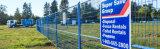 Qualität PVC-Schichts-Sicherheits-Kanada-temporärer Zaun