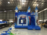 Dessus 2016 vendant le château branchant congelé gonflable de videur de thème