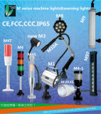 M3w 24V IP65는 CNC 기계를 위한 거위 목 모양의 관 빛을 방수 처리한다
