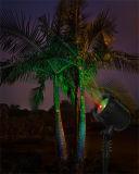 クリスマス樹上の家の装飾のための感光型レーザーの屋外の景色の照明