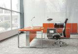 Stainless Steel Leg (HF-SIA01)のL Shape Modern Office Desk