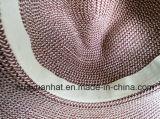 90% Papier10%polyester mit Riemen-Dekoration-Safari-Hüten