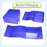 Piegatura di carta del cartone stampata abitudine/contenitori di imballaggio pieghevoli del regalo per l'imballaggio del vino (BP-BC0002)