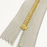 #10 Teeth grande Gold Zipper para Garments