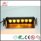 Indicatore luminoso spaccato del precipitare LED della piattaforma del supporto dello stroboscopio d'avvertimento Emergency istantaneo di Lightbar della visiera