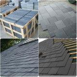 中国の黄色か黒いか無作法なか灰色の屋根ふきまたは文化タイルのスレート