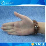 Pulsera elegante al por mayor programable del Wristband del cuero RFID