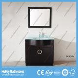 L'alta lucentezza Vinile-Sposta l'unità moderna di vanità della stanza da bagno del grado superiore (BC129V)