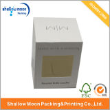 Коробка изготовленный на заказ круглого стеклянного опарника свечки упаковывая (QYZ148)